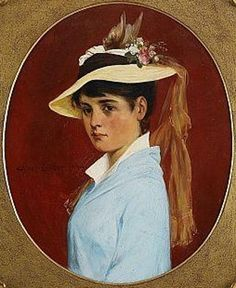 Girl With Hat, Axel Ender