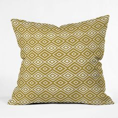 Lisa Argyropoulos Diamonds Are Forever Sand Throw Pillow