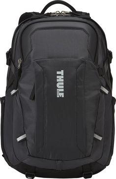 Shop Thule EnRoute Escort 2 Laptop Backpack Black at Best Buy. Find low everyday prices and buy online for delivery or in-store pick-up. Laptop Backpack, Black Backpack, Edc, Belt Holder, Water Bottle Holders, Backpack Brands, Best Bags, Cool Backpacks, Black Models