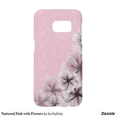 Shop Monogram Pink White Flowers Case-Mate Samsung Galaxy Case created by karlajkitty. Pink And White Flowers, Pale Pink, Pink White, Galaxy S7, Samsung Galaxy, S7 Case, Electronics Accessories, Initials, Custom Design
