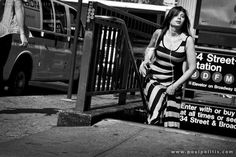Black and White street photography : Emerging