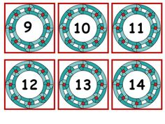 Alphabet and Number Cards uppercase and lowercase  2 Sets with Number Cards 0-20