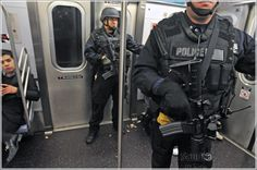 "new york swat team | New York, New York: Dec. 2, 2010, aboard the ""M"" train between ..."