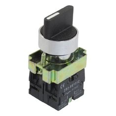 uxcell 22mm Latching 2 NO Three 3-Position Rotary Selector Select Switch ZB2-BE101C #uxcell #Latching #Three #Position #Rotary #Selector #Select #Switch