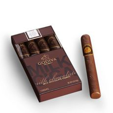 Milk Chocolate Cigars from Godiva - so wrong!