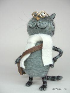 Кот профессор