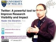 Twitter: A powerful tool to Improve Research Visibility and Impact
