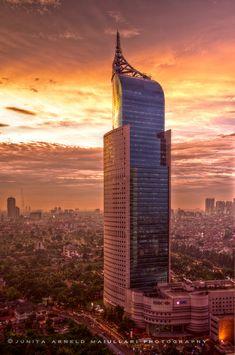 Wisma 46 - Kota BNI in Central Jakarta. Jakarta, Indonesia