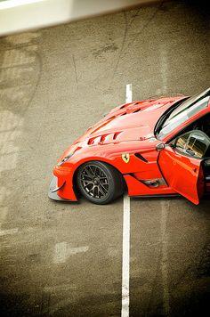 """ Ferrari EVO // T_vanStralen "" If you like it, share it. Cool Sports Cars, Sport Cars, Race Cars, Ferrari Car, Lamborghini, Maserati, Bugatti, Supercars, High End Cars"