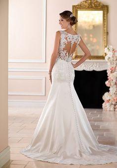 Stella York 6416 Mermaid Wedding Dress