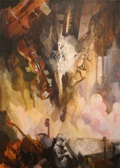 ¨Siempre que me llames...¨  Acrilico sobre lienzo 50 x 70 cm  COPYRIGHT, 2011