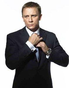 Craig. Daniel Craig. Pretty sure I have him pinned already but I feel obligated!