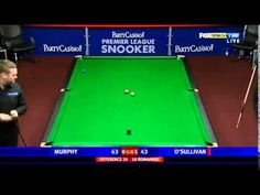 O'Sullivan - Snooker's Spectacular Symphony! Premier League, Spin, Shots, Simple, Youtube, Beginning Sounds, Youtubers