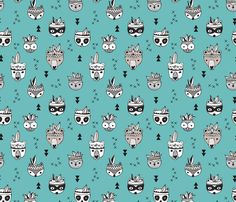 Cool scandinavian geometric woodland animals indian summer zoo blue boys fabric - surface design by Little Smilemakers Studio on Spoonflower - custom fabric and wallpaper inspiration for kids clothes fun fashion and trendy home decorations. Nursery Wallpaper, Fabric Wallpaper, Indian Nursery, Indian Animals, Inspirational Wallpapers, Indian Summer, Inspiration For Kids, Woodland Animals, Vector Pattern