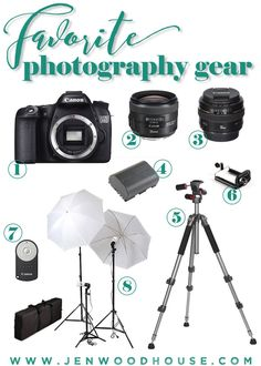 Best photography gear for bloggers - a round-up of my favorite photography equipment.