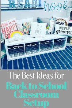 The 67 best classroom setup ideas to get your class ready for back to school including how to label your teacher toolbox, get organized, and tips and inspiration to create an amazing space for you and your students. Preschool Classroom Decor, Classroom Setup, Classroom Design, Kindergarten Classroom, Classroom Organization, First Year Teachers, Classroom Inspiration, Good Parenting, How To Better Yourself