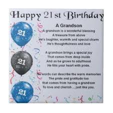 Image Result For Happy Birthday Grandson Poems Happy Birthday