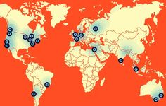 """Los 20 lugares del mundo más """"calientes"""" para emprendedores"""