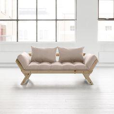Canapé convertible en bois BEBOP Karup avec matelas futon prix Canapé Delamaison 459.00 € TTC au lieu de 590.80 €