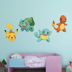 Fathead Pokemon Favorites Wall Decal Collection - 1130-00009