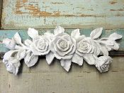 do it yourself Chic ~ appliques!  Rose bouquet