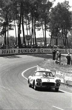 Corvette at Le Mans 1960