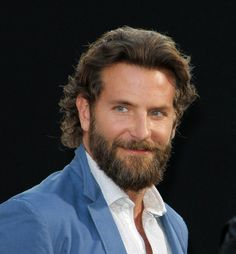 Lady Gaga and Bradley Cooper officially working on A Star is Born remake with Warner Bros Bradley Cooper Age, Bradley Cooper Hangover, Bradley Cooper Irina, Bradley Cooper Haircut, Brad Cooper, Beautiful Celebrities, Beautiful Men, Hair And Beard Styles, Long Hair Styles