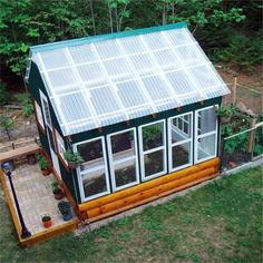 Salvaged materials and smart shopping helped this reader construct her dream green house on a shoestring budget. Learn her secrets @ thisoldhouse.com