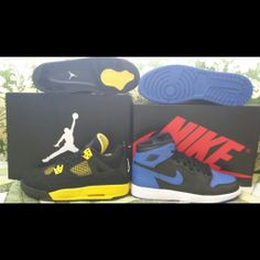 `Thunder Love and my Royal Beat :p Jordans Sneakers, Air Jordans, Thunder, Collection, Air Jordan