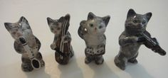 Beswick china cat orchestra