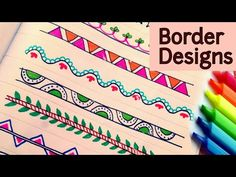 Chart Design Ideas Pie Charts Chart Border Decoration Ideas How To Decorate Borders Of Project Files Of Chart Border Decoration Ideas Newscellarinfo Chart Border Decoration Ideas Border Design Ideas Easy To Draw Boarder Designs, Page Borders Design, Outline Designs, Border Ideas, File Decoration Ideas, Page Decoration, Doodle Borders, Borders For Paper, Flow Chart Design