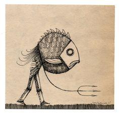 'Fish Curse' Jon Carling 2011