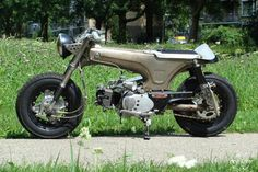 Honda Dax. Honda Cub, Custom Mini Bike, Custom Bikes, Mini Bici, Go Dog Go, Cool Dirt Bikes, Mini Chopper, Motorised Bike, Xjr