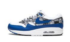 Stussy x Nike Air Max 95 Loyal Blue | Sneakerworld.dk