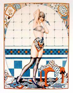 Illustration by Vald 'Es For La Vie Parisienne