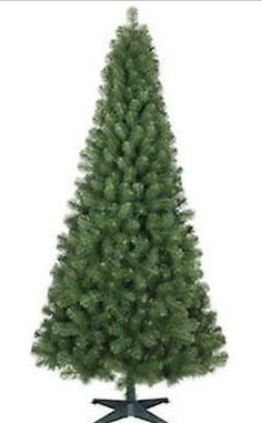 NEW Artificial Christmas Tree 6' Tall Alberta Spruce Unlit Flame Resistant #Wondershop