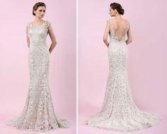 vestido de noiva estilo arte deco de gemy maalouf 2016