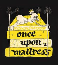 Mary Rodgers - THEATRE POSTER FOR THE 1959 BROADWAY MUSICAL ''ONCE UPON A MATTRESS''