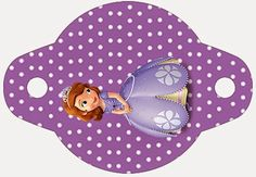 Is it for PARTIES? Is it FREE? Is it CUTE? Has QUALITY? It´s HERE! Oh My Fiesta!: Sofia the First: Free Party Printables and Images....