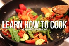I cook very simple...out of a can! I want to learn how to cook from scratch!