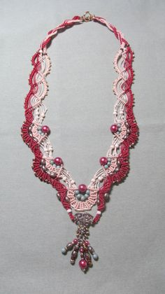 Micro Macrame Necklace - Mirage - Bead&Button Magazine Community - Forums, Blogs, and Photo Galleries