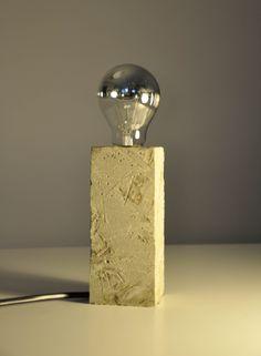 """Lampa z betonu """"Cube_01"""""""