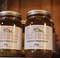 Dinner With Nerds: Nashville Food Bloggers Potluck - Yes, Southern Moonshine Jelly!!