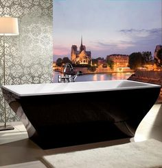 LA BELLE | #Bathtub by @Villeroy & Boch #bathroom #paris