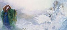 Irish Myths and Legends Part Aoife's Tale - The Wild Geese Fairy Names, The Wild Geese, Irish Mythology, Celtic Dragon, Irish Celtic, Swan Lake, Children, Swans, Evil Stepmother