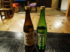 Locally brewed sake from the neighboring town, Odaicho which paired perfectly with the food!