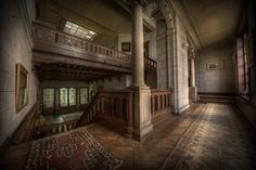 Urbex guru Andre Govia has an uncanny ability to take the most amazingly beautiful photos of creepy abandoned places. If you like abandoned, creepy, spooky, scary or haunted, then you could disappe… Abandoned Buildings, Abandoned Property, Abandoned Castles, Old Buildings, Abandoned Places, Old Mansions, Abandoned Mansions, Left Alone, Haunted Places