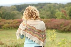Hansel is atraditional hap shawl by designer Gundrun Johnston. This printed pattern includes instructions to knit both a half and full sized hap. Size - half