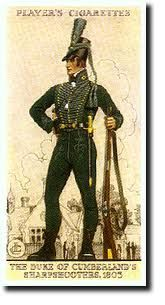 Players Cigarettes: The Duke of Cumberland's Sharpshooter, 1805