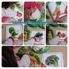 Elifce Bebek Oyunları ve Hobi: Gerçek meyve sebze ile resim eşleştirme